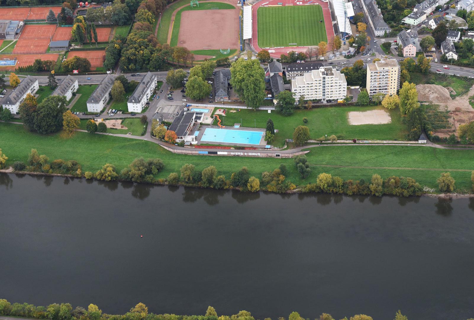 Bauabschnitt 2 Nordbad Luftbild